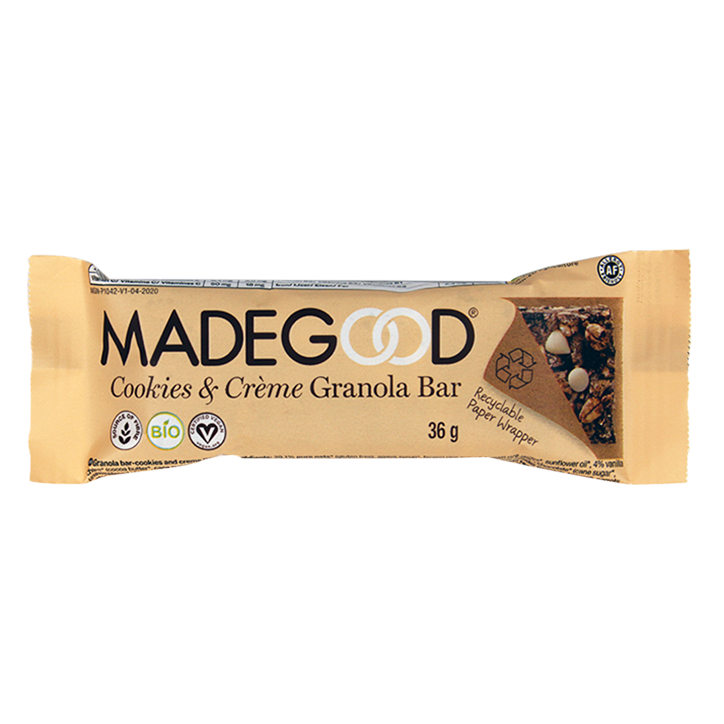 MadeGood Cookies & Crème Granola Bar (36gr)