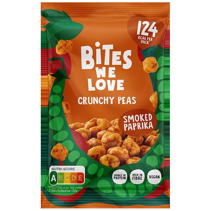 Bites We Love Crunchy Peas Smoked Paprika (35 g)
