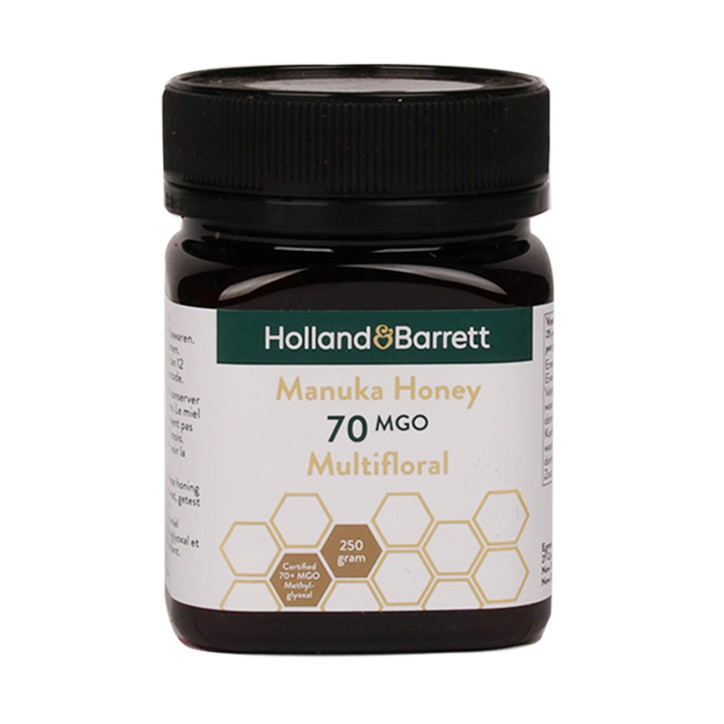 Holland & Barrett Manuka Honey Multifloral MGO 70 (250gr)