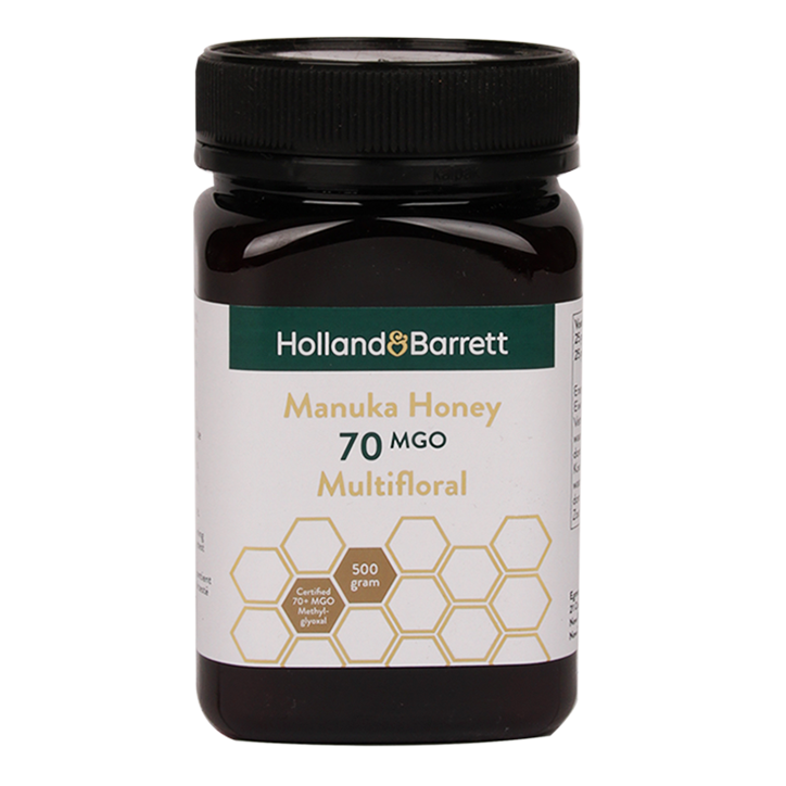 Holland & Barrett Manuka Honey Multifloral MGO 70 (500gr)