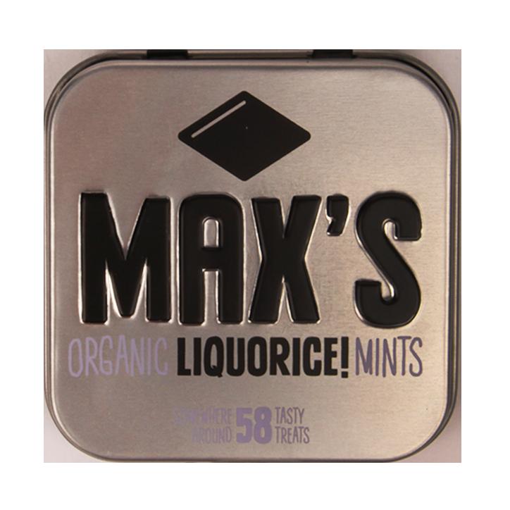 Max's Organic Liquorice Mints (35gr)