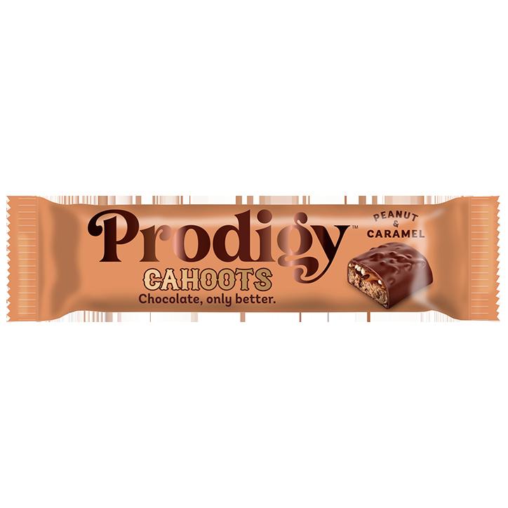 Prodigy Peanut Caramel Cahoots Chocolate Bar (35gr)