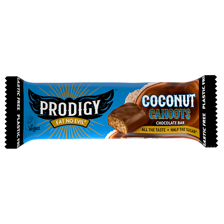 Prodigy Coconut Cahoots Chocolate Bar (45gr)