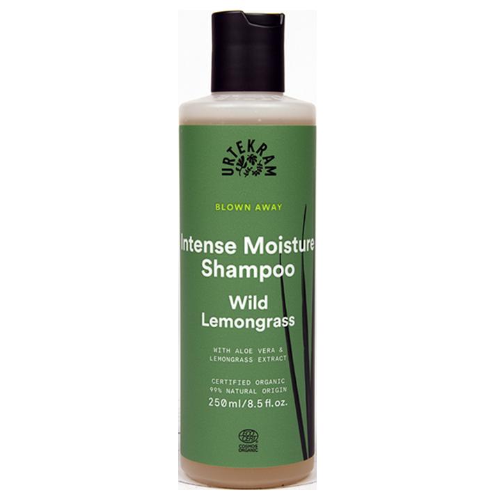 Urtekram Blown Away Intense Moisture Shampoo Wild Lemongrass (250ml)