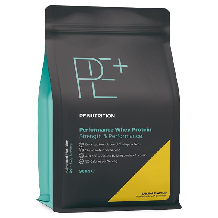 PE Nutrition Performance Whey Protein Banana (900gr)