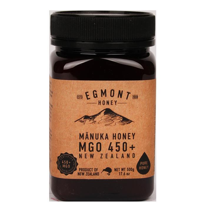 Egmont Honey Manuka Honing MGO 450+ (500gr)