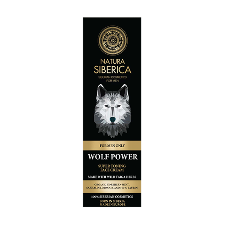 Natura Siberica For Men Super Toning Face Cream (50ml)