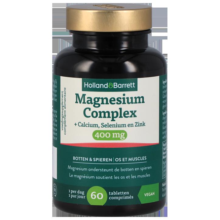 Holland & Barrett Magnesium Complex, 400mg (60 Tabletten)