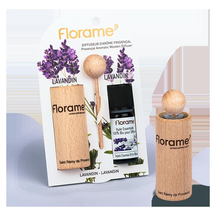 Florame Houten Aroma Diffuser Lavendel