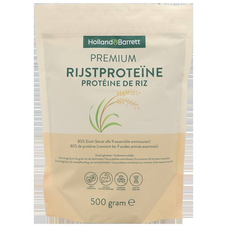 Holland & Barrett Premium Rijstproteïne Poeder (500gr)