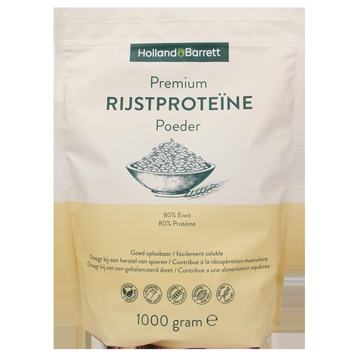 Holland & Barrett Premium Rijstproteïne Poeder (1000gr)