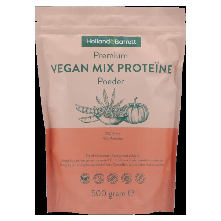 Holland & Barrett Premium Vegan Mix Proteïne Poeder (500gr)