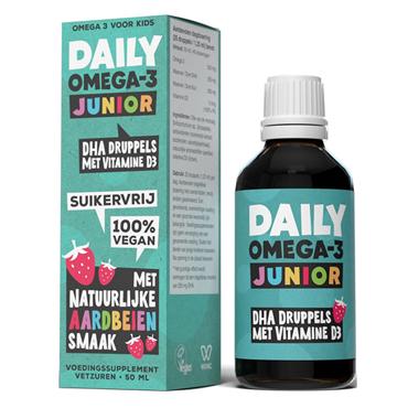 Daily Supplements Daily Omega-3 Junior met DHA en vitamine D3 (50ml)