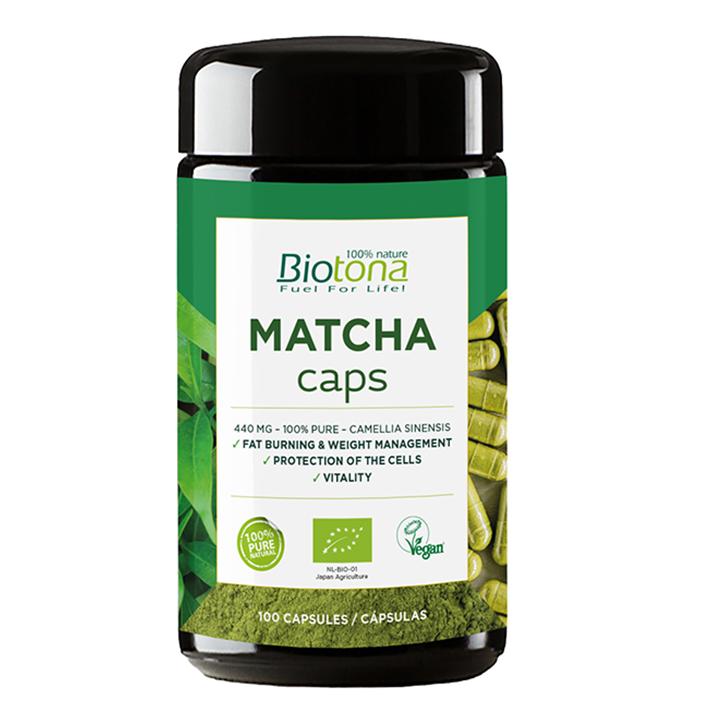 Biotona Matcha Caps (100 capsules)