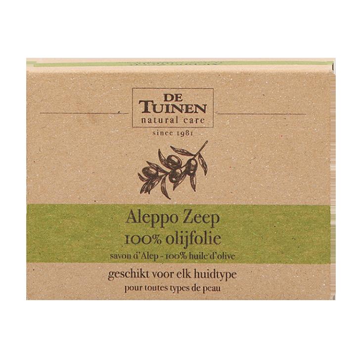 De Tuinen Aleppo Zeep met Pure Olijfolie (200g)