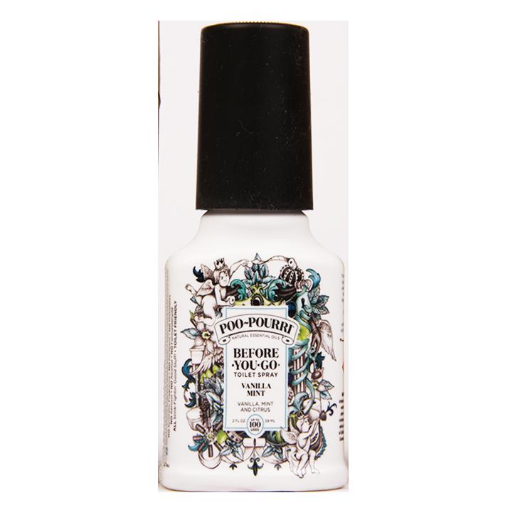 Poo-Pourri Before You Go Toilet Spray Vanilla Mint (59ml)