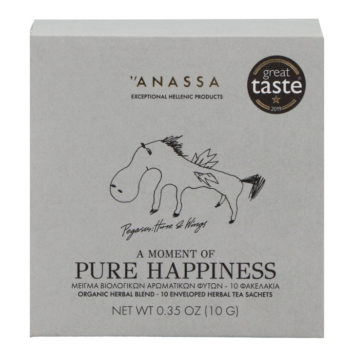 Anassa A Moment Of Pure Happiness Organic Herbal Blend(10 sachets)