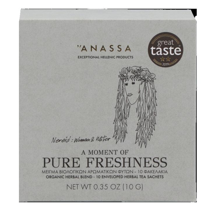 Anassa A Moment Of Pure Freshness Organic Herbal Blend (10 sachets)