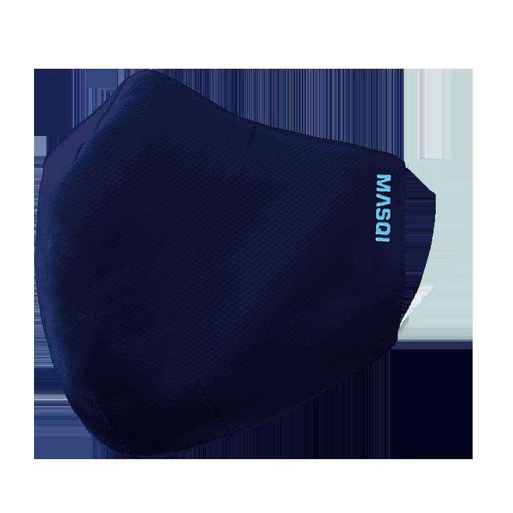 Masqi Herbruikbaar Mondmasker Marineblauw