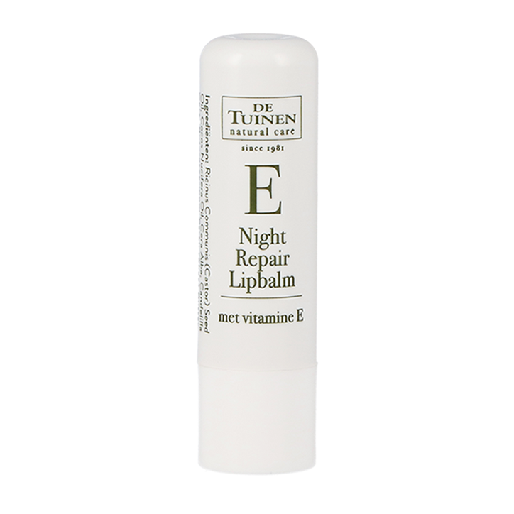 De Tuinen Night Repair Lipbalm met Vitamine E (4.8 gram)