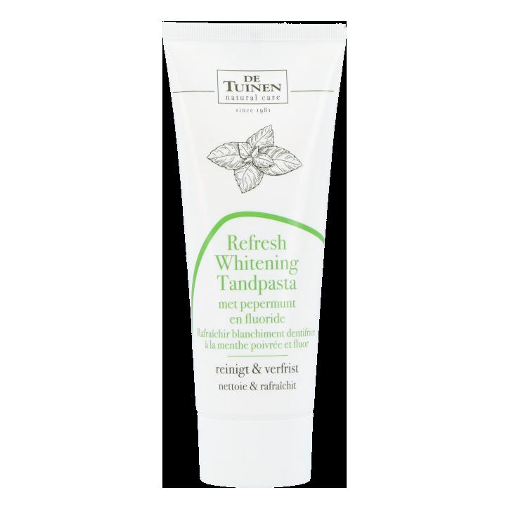 De Tuinen Refresh Whitening Tandpasta Met Pepermunt En Fluoride (75ml)