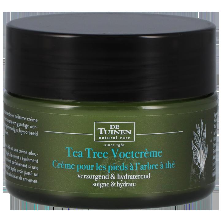 De Tuinen Tea Tree Voetcrème (50ml)