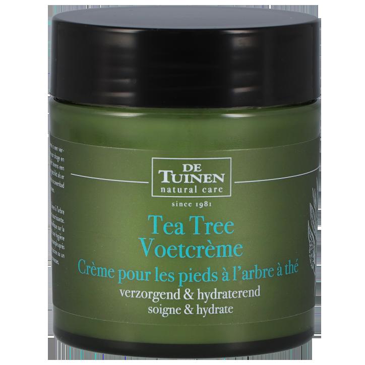 De Tuinen Tea Tree Voetcrème (120ml)