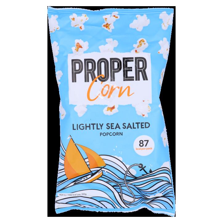 Propercorn Lightly Sea Salted popcorn (20gr)