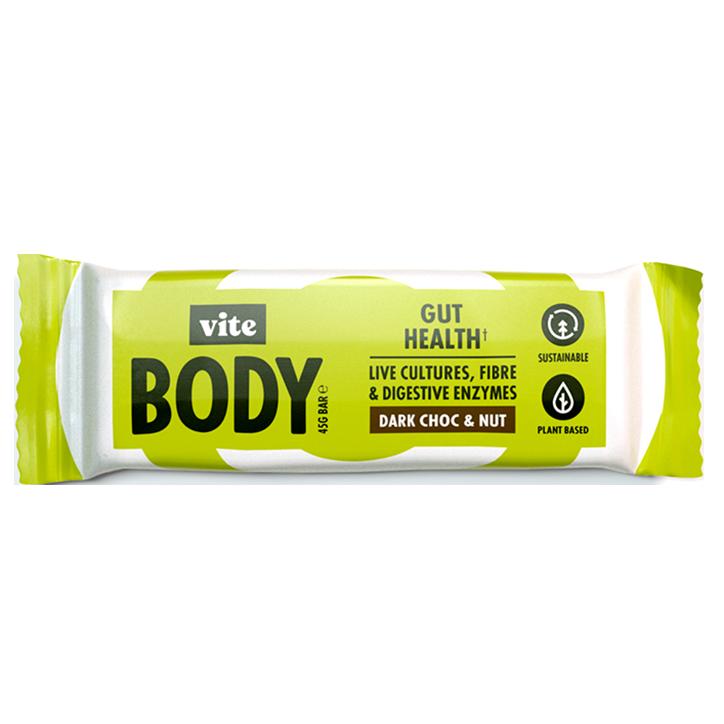 Vite Body Gut Health Dark Chocolate & Nut (45 gram)