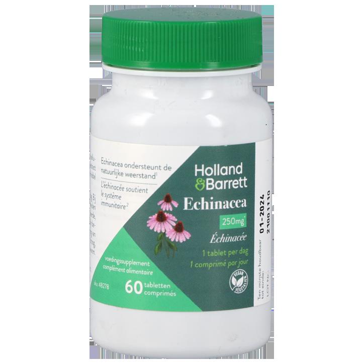 Holland & Barrett Echinacea, 250mg (60 Tabletten)