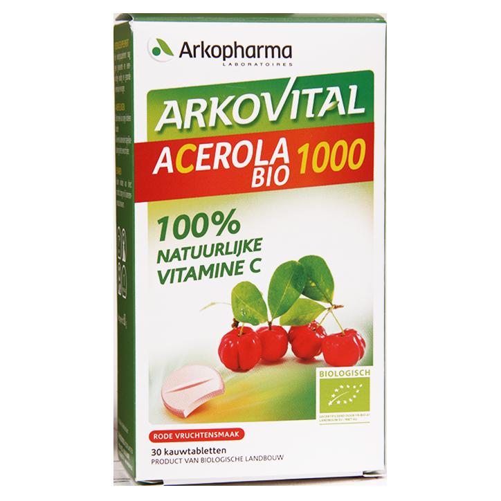 Arkopharma Acerola Bio 1000 (30 Kauwtabletten)