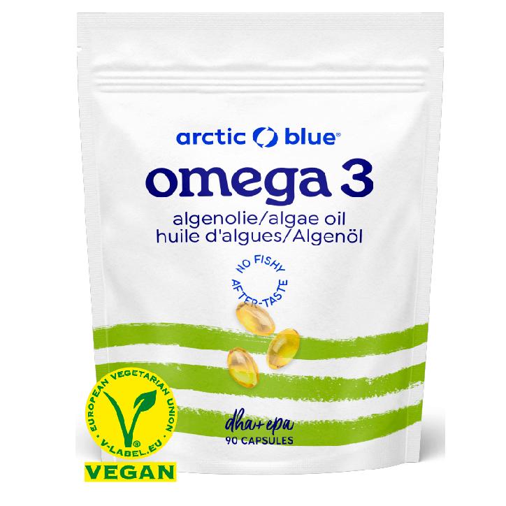 Arctic Blue Omega 3 Algenolie met DHA & EPA (90 Capsules)