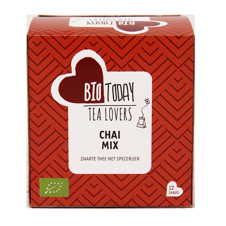 BioToday Chai thee mix Bio (12 Theezakjes)