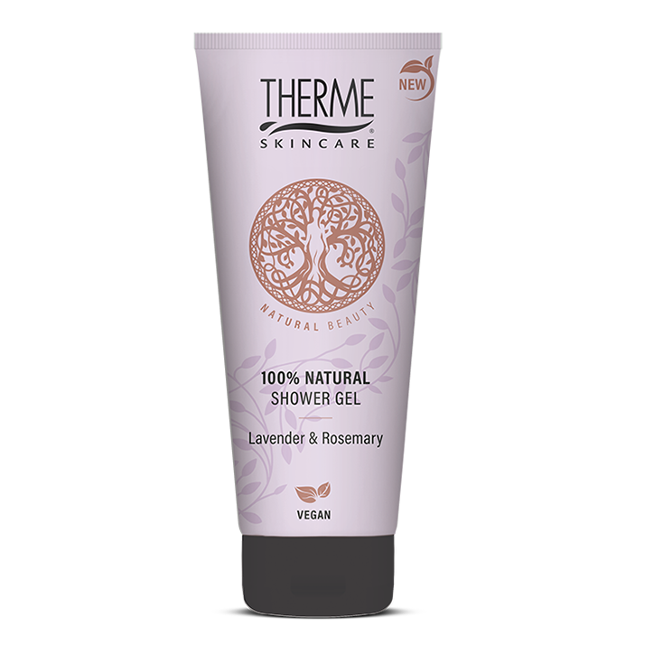 Therme 100% Natural Showergel Lavender & Rosemary (200 ml)