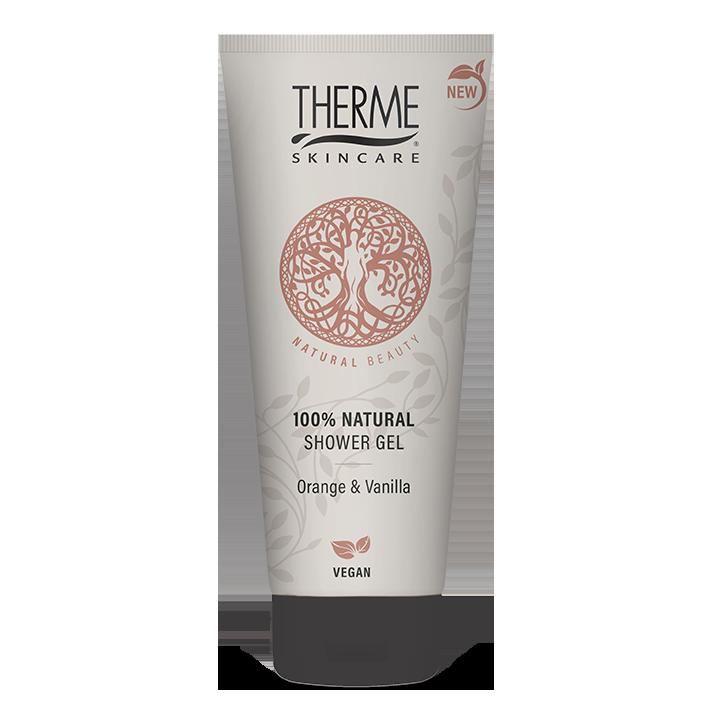 Therme 100% Natural Showergel Orange & Vanilla (200 ml)