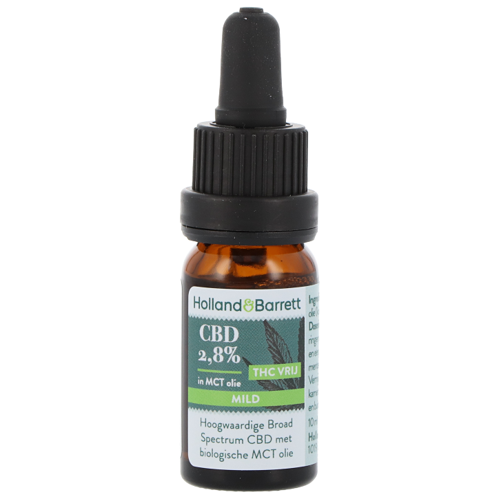 Holland & Barrett CBD Olie Mild 2,8% (10ml)