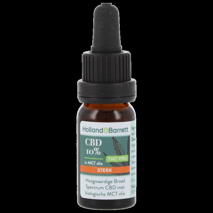 Holland & Barrett CBD Olie Sterk 10% (30ml)