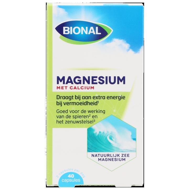 Bional Natuurlijk Zee Magnesium (40 Capsules)