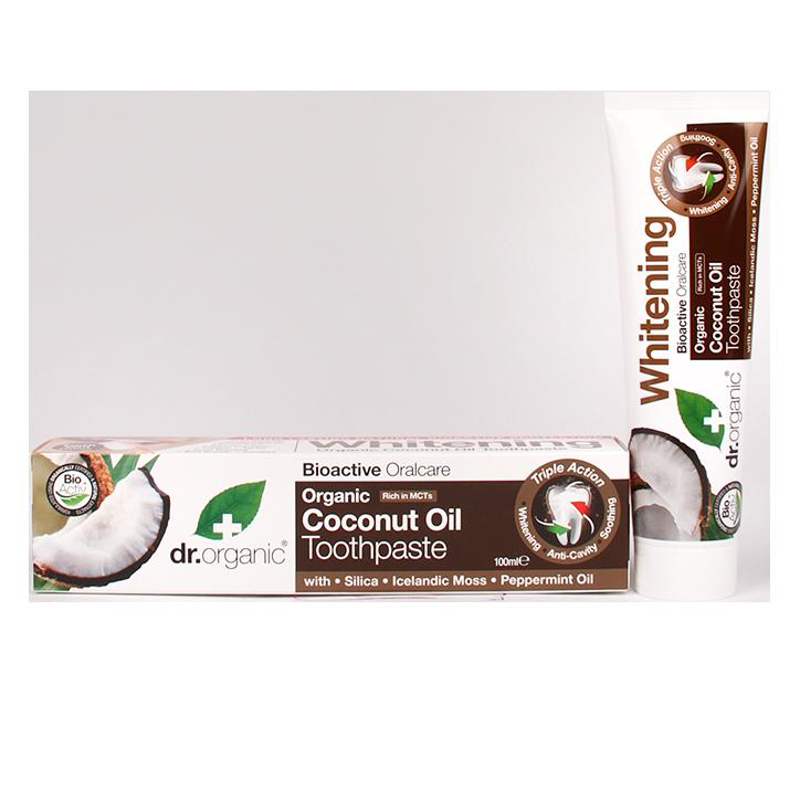 Dr. Organic Coconut Oil Tandpasta