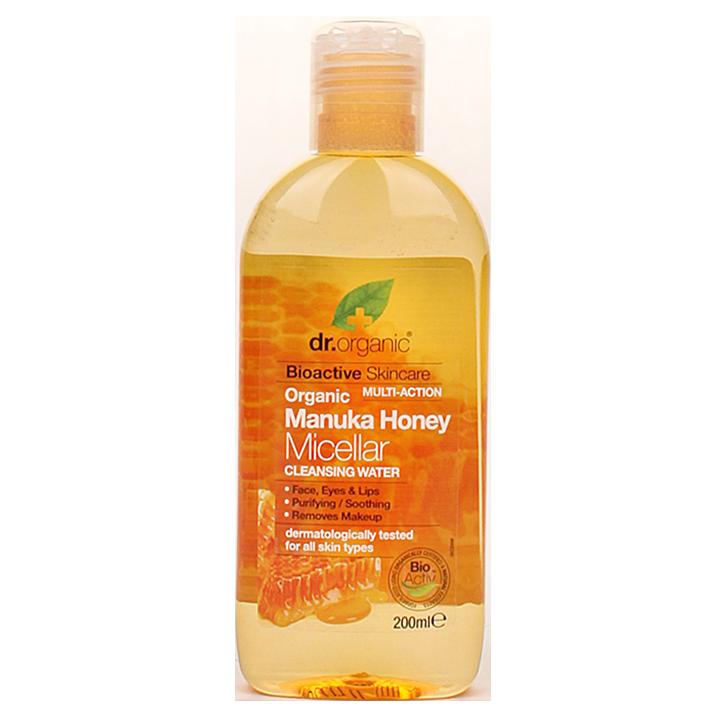 Dr. Organic Eau micellaire au miel de Manuka (200 ml)