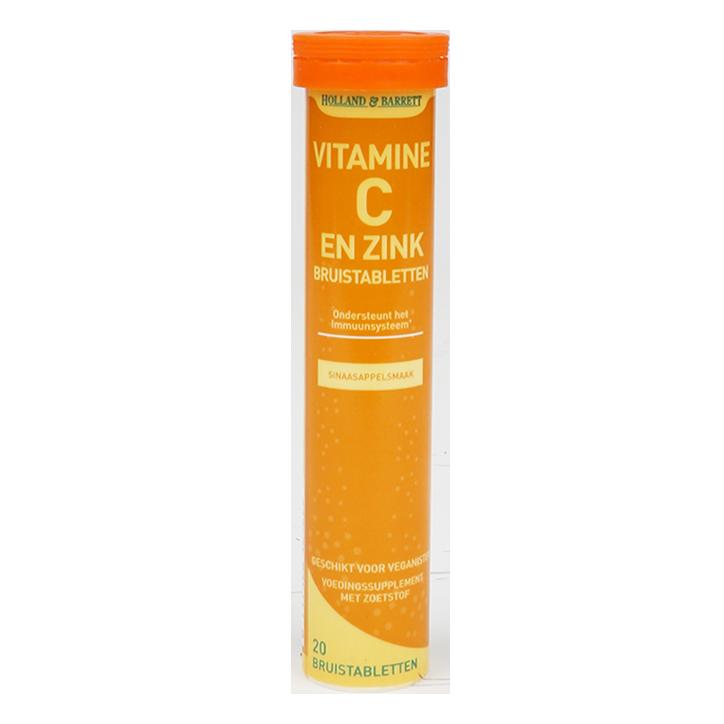Holland & Barrett Vitamine C Met Zink