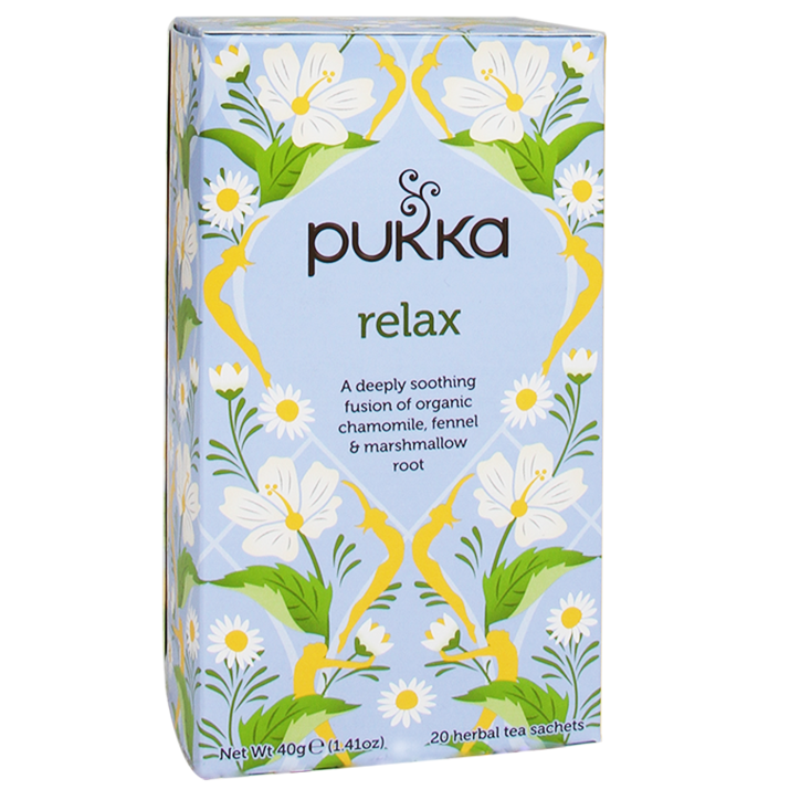 Pukka Relax Bio (20 Theezakjes)