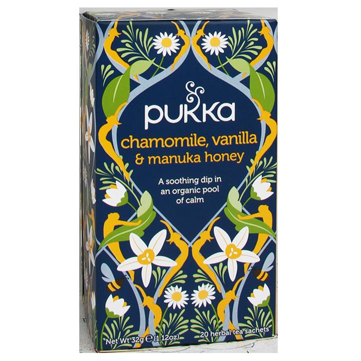 Pukka Chamomile Vanilla Manuka Bio (20 Theezakjes)
