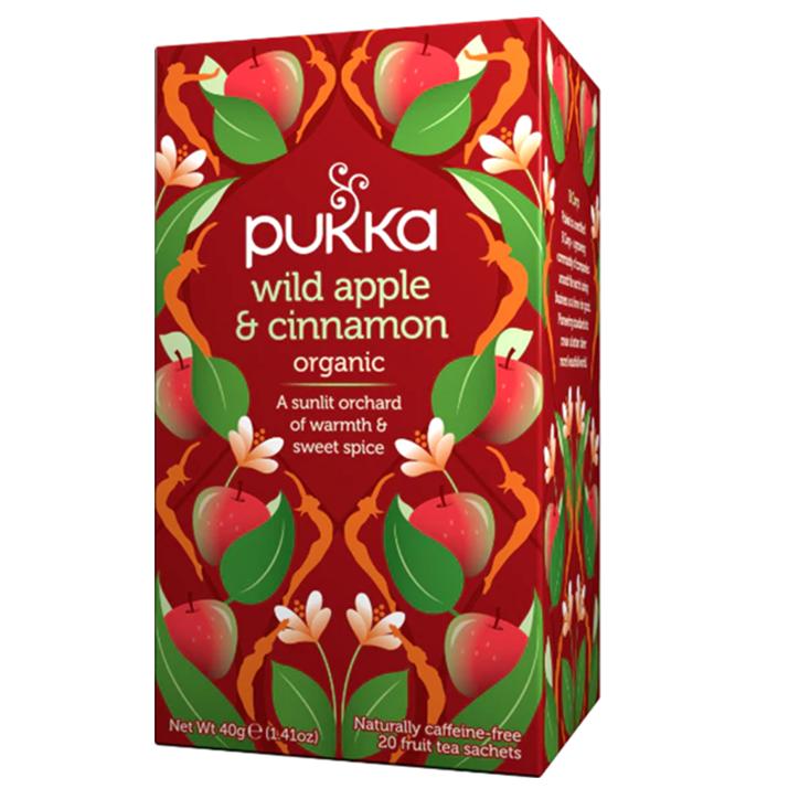 Pukka Wild Apple Cinnamon Bio (20 Theezakjes)