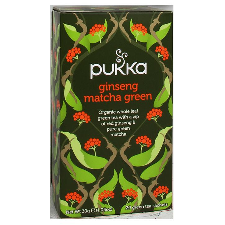 Pukka Ginseng Matcha Tea Bio (20 Theezakjes)