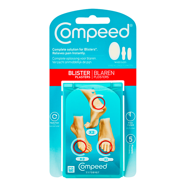 Compeed Blarenpleisters Mixpack (5 Blarenpleisters)