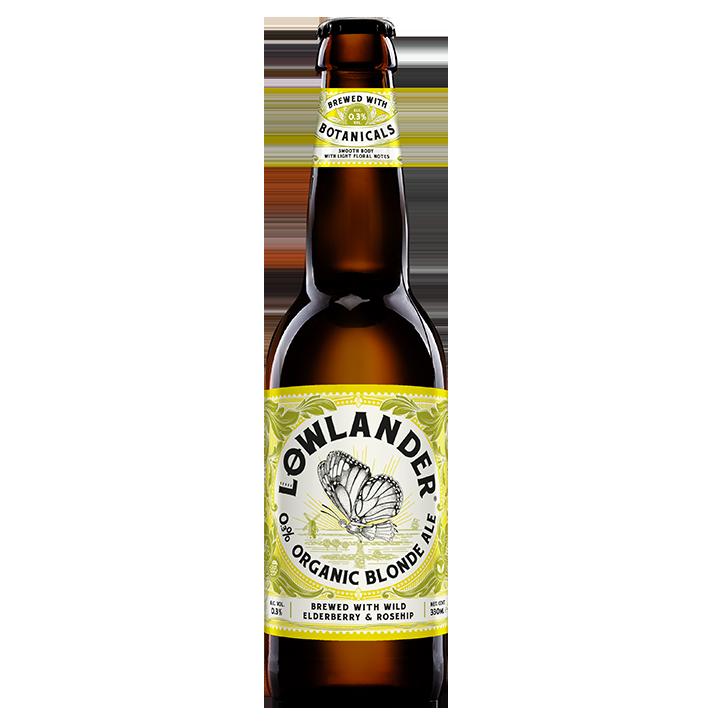 Lowlander 0.3% Ale blonde biologique (330 ml)