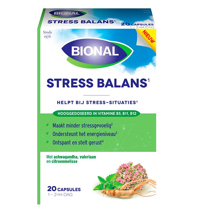 Bional Stress Balans (20 Capsules)