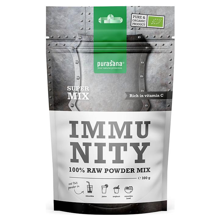 Purasana Immunity 100% Raw Powder Mix (100 gram)