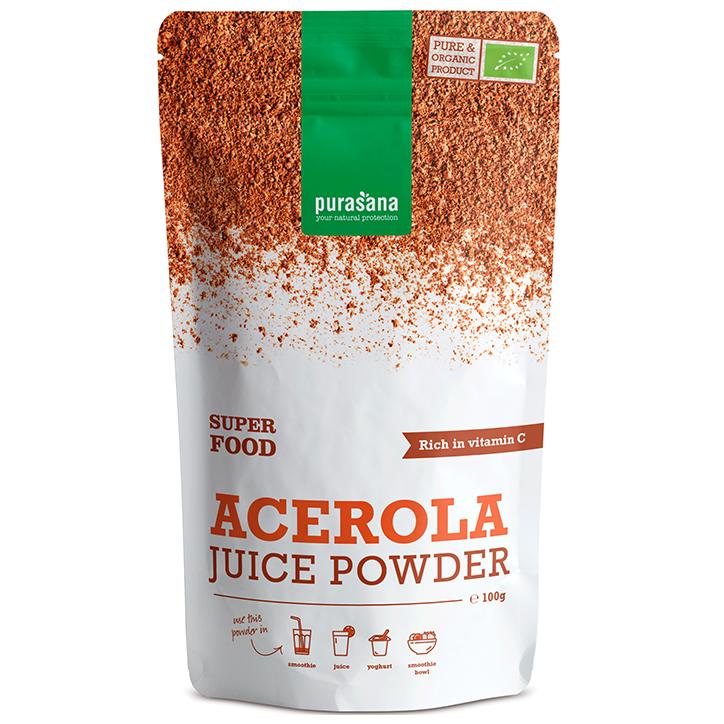 Purasana Acerola Juice Powder (100 gram)